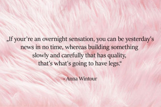 Quote of the Day: Anna Wintour